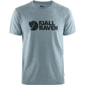 Fjällräven Logo T-Shirt Men uncle blue/melange